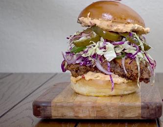 crispy chicken sandwich with slaw recipe