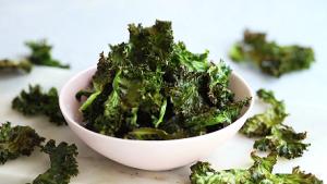 Crispy Kale Chips with Lemon and Parmesan Recipe