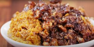 Crockpot Sweet Potato Casserole Recipe