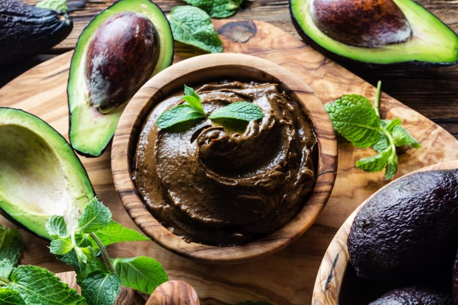dark chocolate avocado mousse recipe