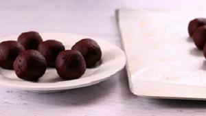 Dark Chocolate Peppermint Truffles Recipe