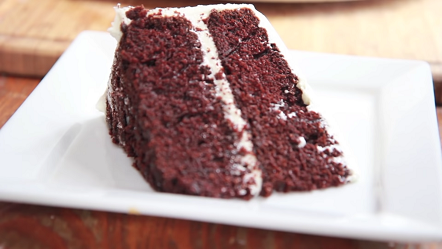 devils food cake with vanilla ice cream recipe
