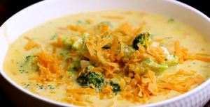 Easy Broccoli Cheddar Soup Recipe