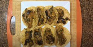 Eggplant Fajita Tacos Recipe