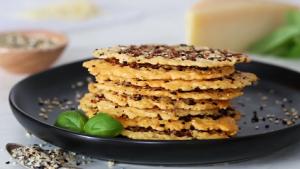 Everything Parmesan Crisps Recipe