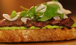 Flank Steak with Orange and Avocado Salsa Recipe
