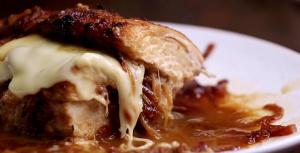 French Onion Stuffed Chicken Casserole Recipe