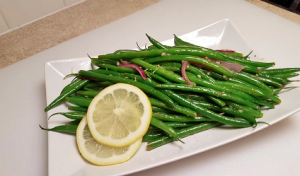 French String Beans with Shallots Recipe
