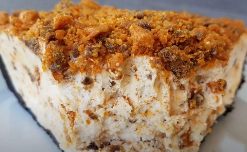 Frozen Butterfinger Pie Recipe