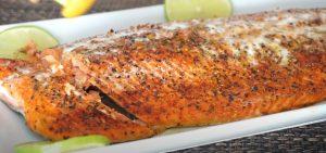 Ginger Roasted Salmon Recipe