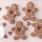 gingerbread men cookies with nutella hazelnut spread recipe