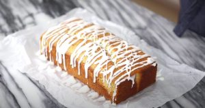 Glazed Almond Poppy Seed Bread Recipe