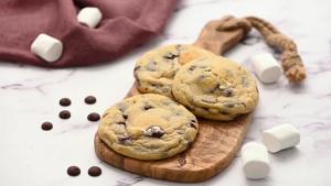 Gooey S'mores Cookies Recipe
