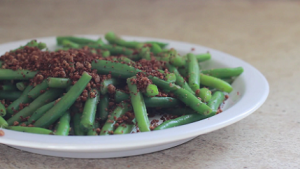 Green Beans with Bread Crumbs Recipe