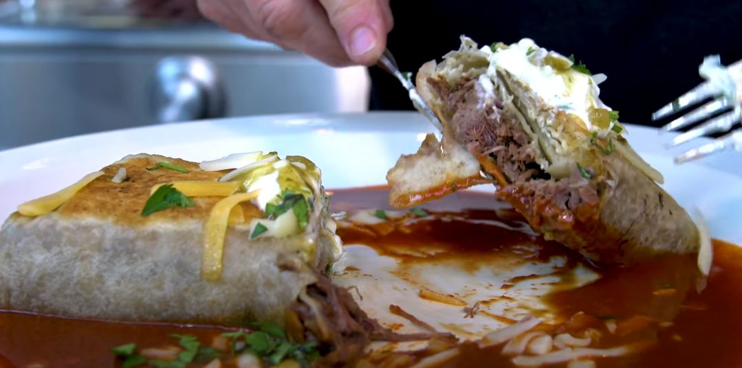 Green Chile Burritos Recipe