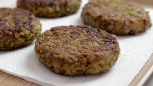 Green Lentil Burgers Recipe