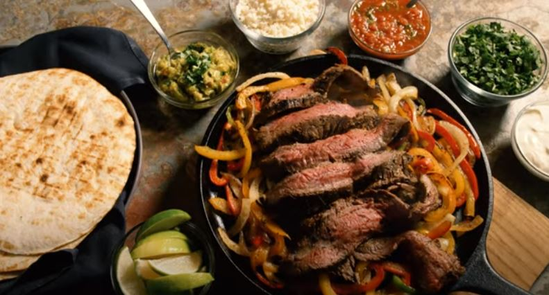 grilled steak faijtas recipe