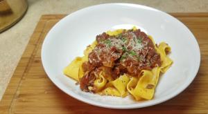 Ground Pot Roast Pasta Recipe