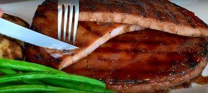 Ham Steak With Orange Recipe