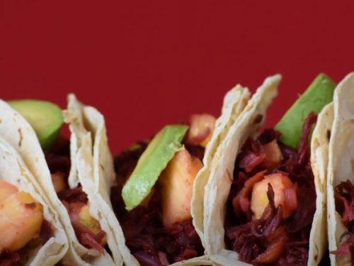hibiscus flower tacos recipe