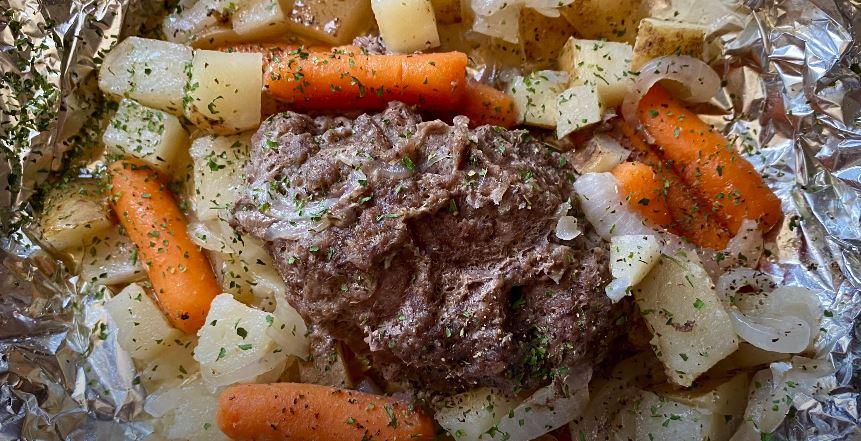 hobo dinner foil packets recipe