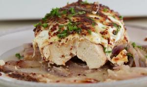 Honey Mustard Chicken with Roasted Vegetables Recipe