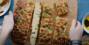 Herbed Flatbread (Focaccia) Recipe