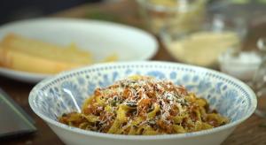 5 Minute Sun Dried Tomato Pesto Pasta Recipe