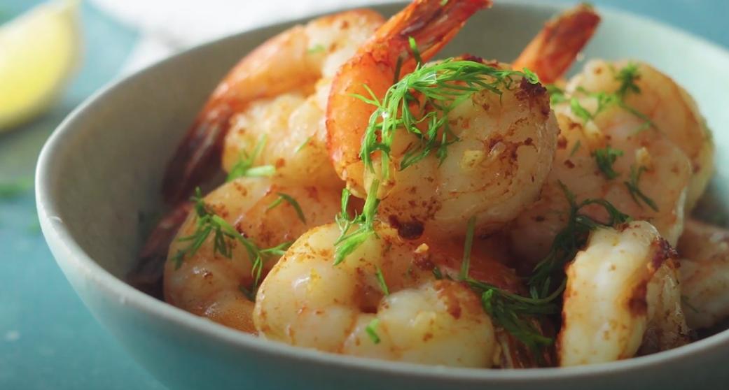 roasted lemon-garlic shrimp recipe