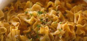 NO YOLKS® Beef Noodle Casserole Recipe