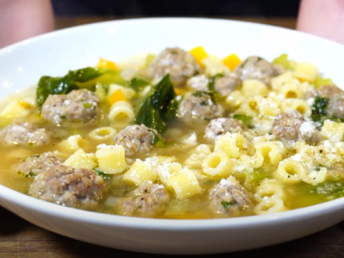 sicilian meatball soup recipe