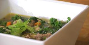Kale White Bean and Sausage Soup Recipe