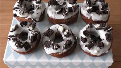 copycat krispy kreme double glazed oreo cake donuts recipe