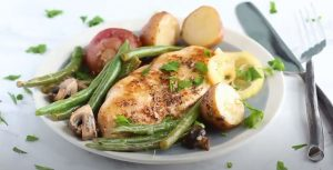 Lemon Chicken with Veggies Recipe