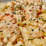 lemon garlic parmesan shrimp pasta recipe