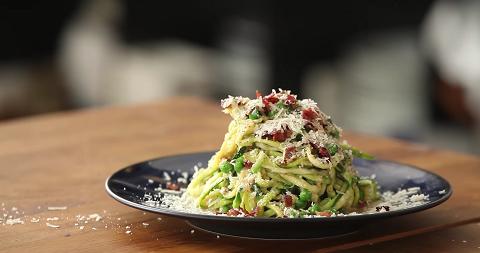 low-carb zucchini pasta recipe