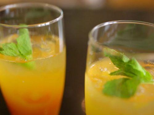 Mango-Peach Sangria Recipe