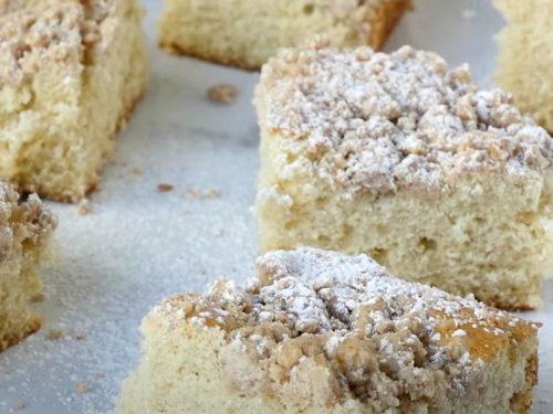 New York Crumb Cake Recipe