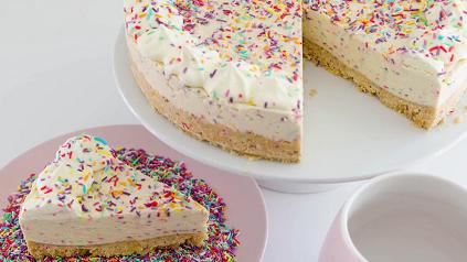no-bake funfetti cheesecake recipe