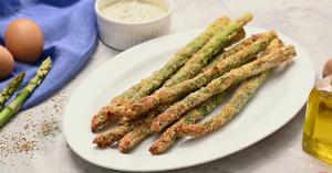 Parmesan Herb Asparagus Fries Recipe