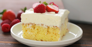 Pastel de Tres Leches (Three Milk Cake) Recipe
