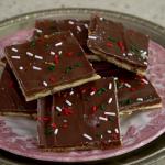 pecan christmas crack ritz cracker toffee recipe