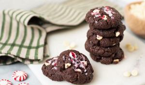 Peppermint Bark Chocolate Cookies Recipe