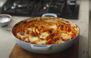 Pepperoni Pizza Penne Pasta Recipe