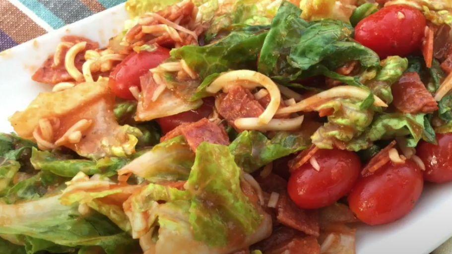Pizza Salad Recipe