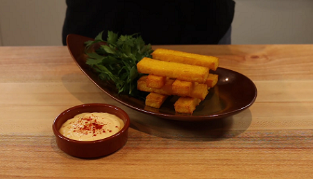 polenta fries recipe