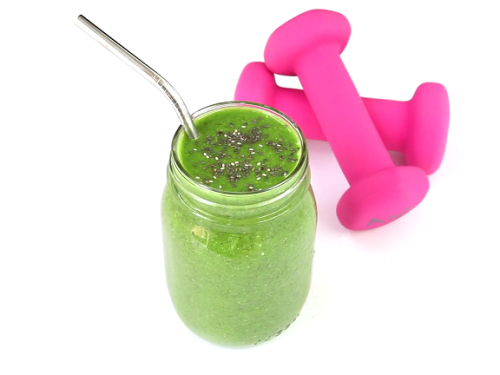 post-workout green smoothie recipe