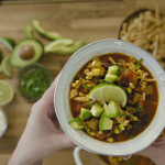 quick and easy tortilla soup recipe