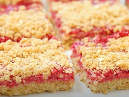 Raspberry Granola Bars Recipe