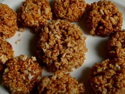 Rice Brittle Crunch Recipe